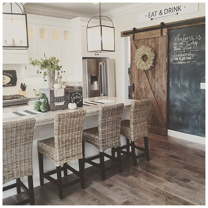 Superb Barn Door With Chalkboard Wall Add Lots Of Texture Pdpeps Interior Chair Design Pdpepsorg