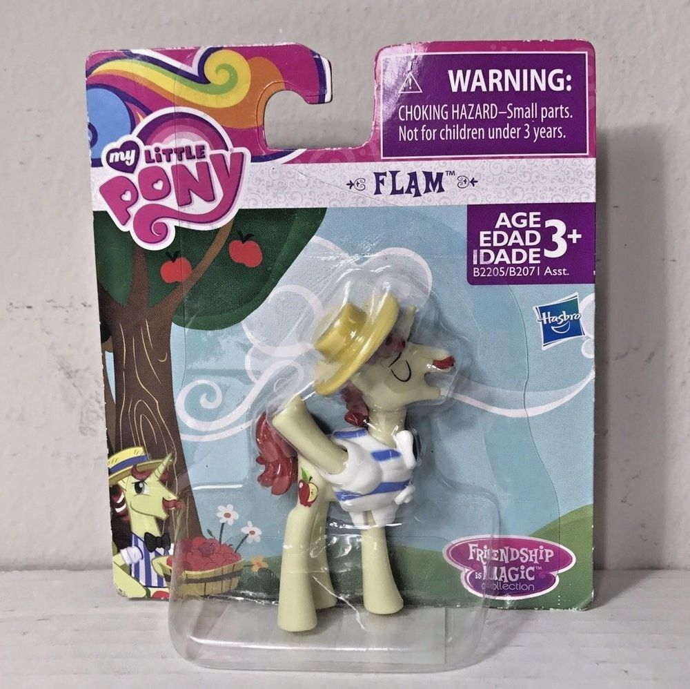 My Pony Friendship Is Magic Colección Little Flam figura