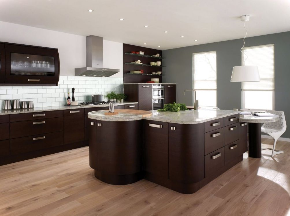 The Dark Brown Kitchen Cabinet Ideas Will Give You About Cabinets Designs