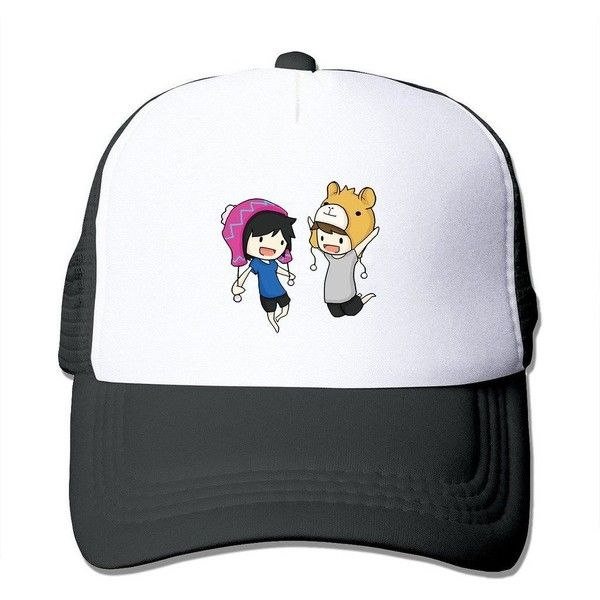 LIANBANG Dan And Phil The Cats Whiskers Come From Within Adjustable... ($9.99) ❤ liked on Polyvore featuring accessories, hats, mesh snapback hats, ball caps, mesh ball caps, mesh cap and snapback cap