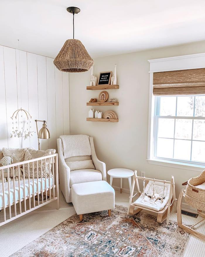 Gender Neutral Nursery Design for Under $1500