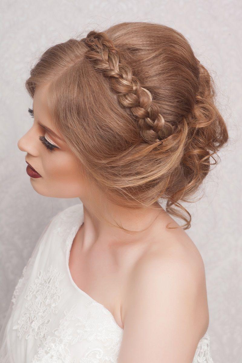 Brautfrisur Geflochten 35 Kreative Ideen Brautstyling Wedding