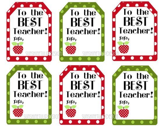 photograph relating to Free Printable Teacher Appreciation Tags named No cost Printable Prefer Tags for academics  ! Do-it-yourself Printable