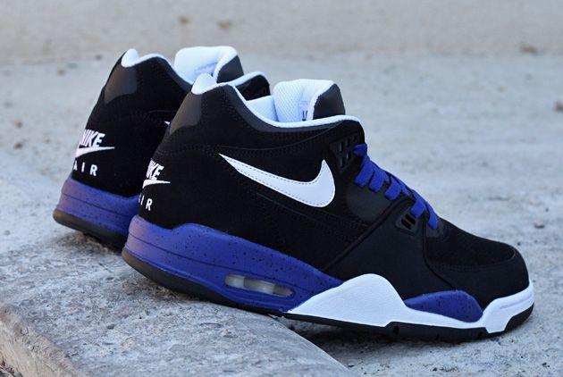 Nike Air Flight 89 BlackBlue #sneakers | Basket homme