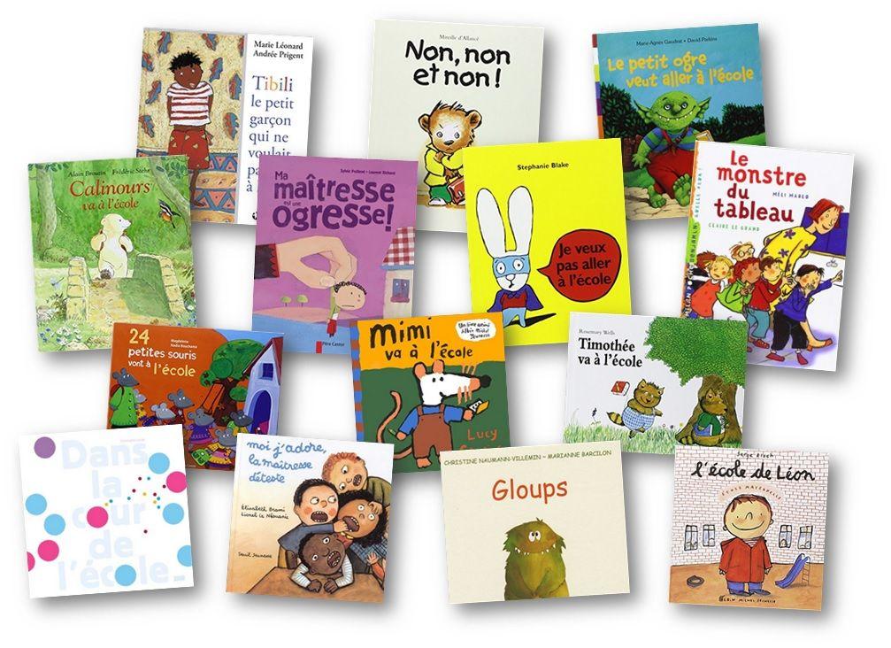 Albums Sur La Rentree Des Classes Et Sur L Ecole En Maternelle Et Cycle 2 Rentree Des Classes Theme Rentree Maternelle Rentree Des Classes Maternelle