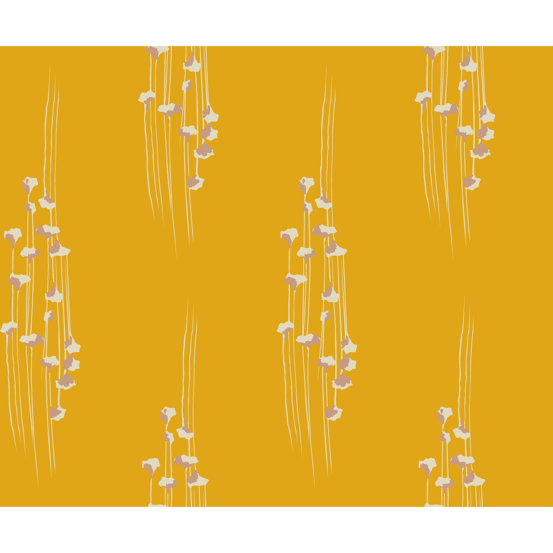 Gingko Mustard Peel Stick Wallpaper By Drew Barrymore Flower Home Walmart Com In 2021 Peel And Stick Wallpaper Drew Barrymore Home Wallpaper