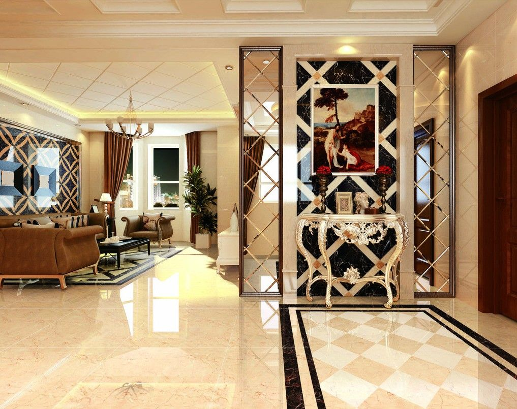 Living Room Entrance Ideas