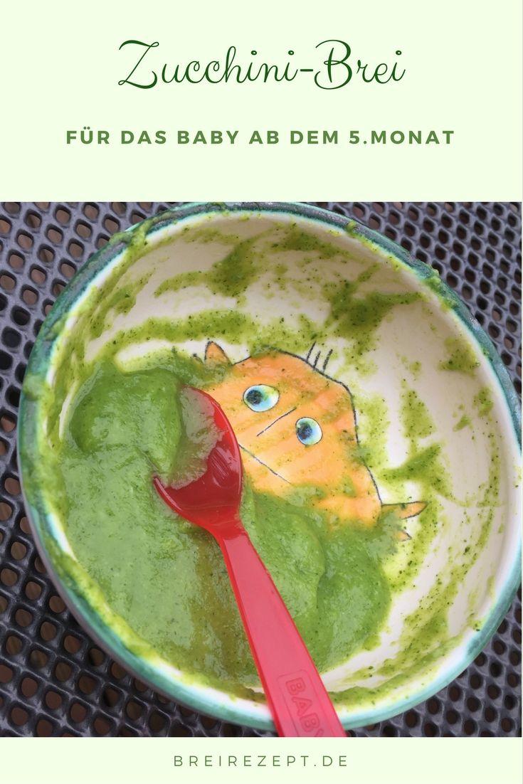 Zucchinibrei Fur Babys Rezept Kochen Fur Baby Babynahrung Babybrei Rezepte