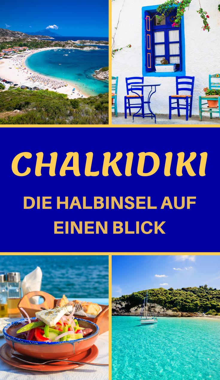 Vacaciones en Chalkidiki – guías de viaje, lugares, playas, fotos
