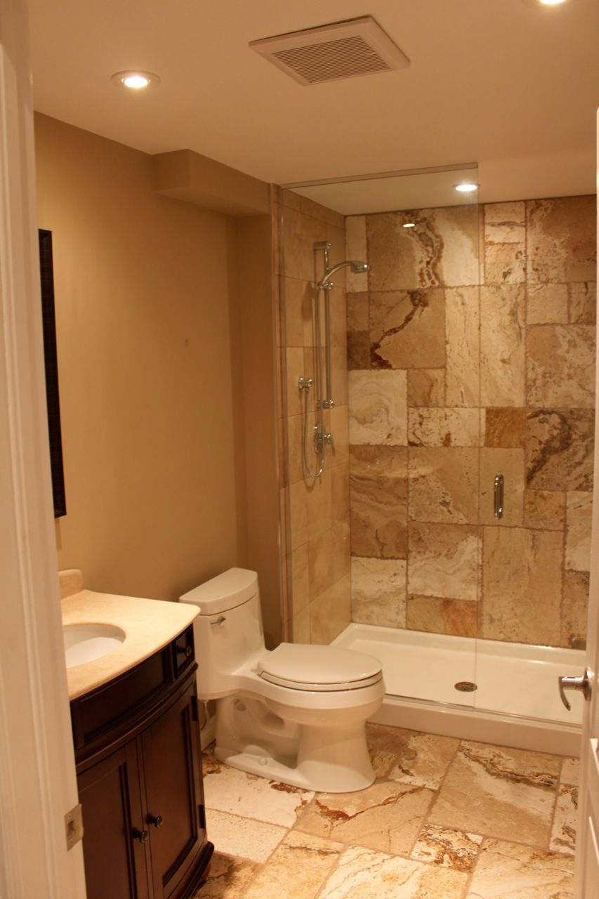Small Piece Bathroom Ideas Ideas Pinterest - 3 piece bathroom remodel