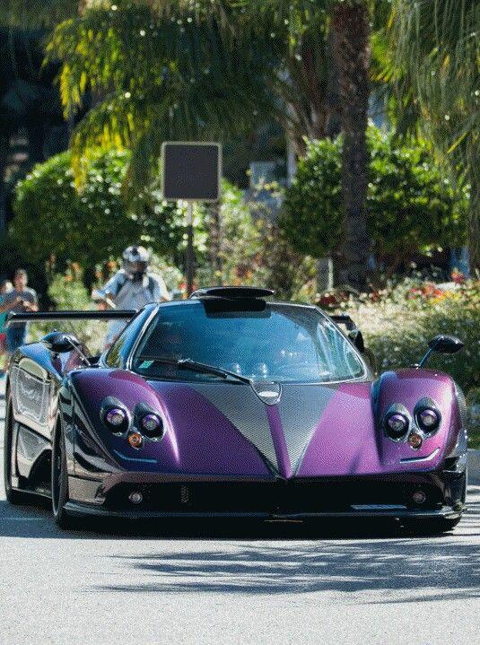 Pagani Zonda Summer Tires Online >> Pagani Zonda 760lh Lewis Hamilton Cruising The Streets Of Monaco