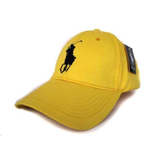 14b229be26a Ralph Lauren Polo Big Pony Cap Yellow