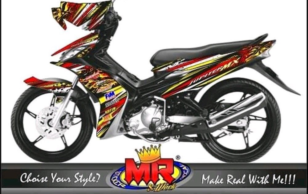 31 Stiker Keren Jupiter Mx Decal Jupiter Mx 135 Old Lama Stiker Desain Terbaru 01 Spec A Download Modifikasi Yamaha Jupiter Mx Dual Muf Di 2020 Stiker Motogp Fiat