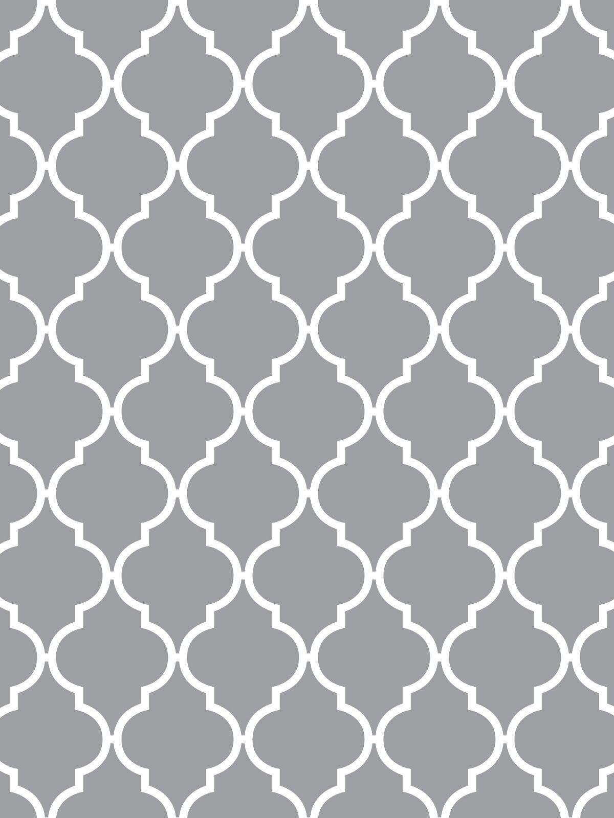 Make it Create Printables & Backgrounds Wallpapers Quatrefoil