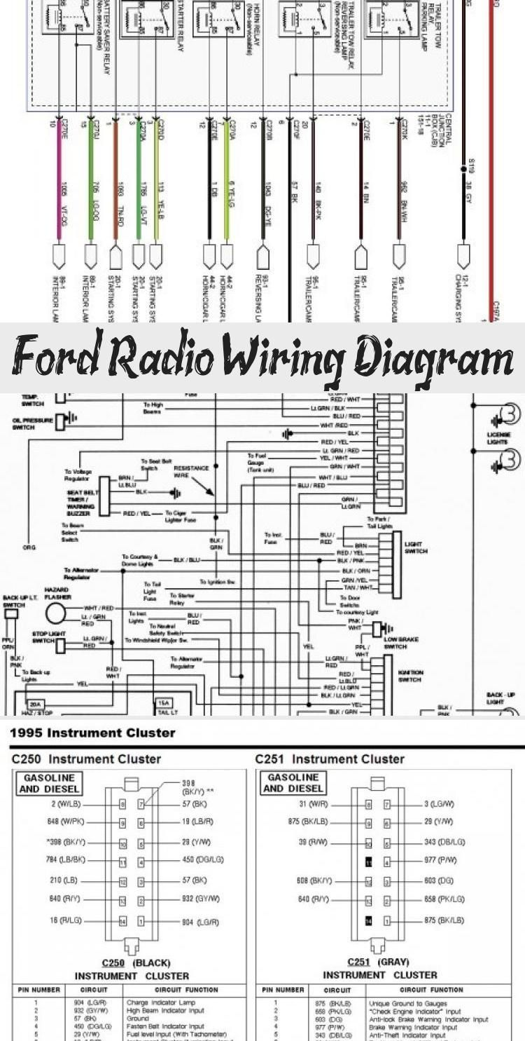 Radio Wiring Diagram For 2008 F350
