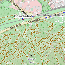 The Openstreetmap Cycle Map