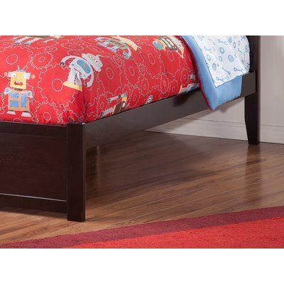 Red Barrel Studio Wrington Storage Platform Bed Color Espresso