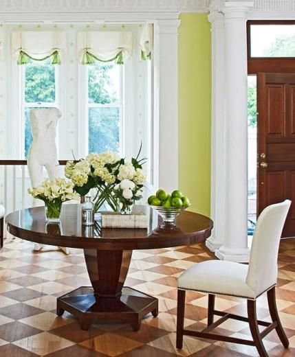 Before and After: Capitol Hill Renovation   Traditional Home Love the stained and stenciled floor!