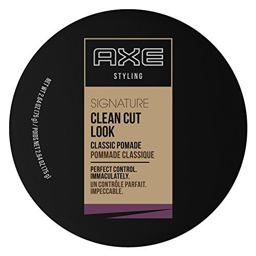 Axe Clean Look Classic Pomade Review With Images Hair Pomade Axe Hair Products Hair Shine
