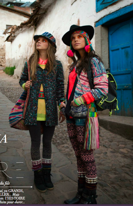 Peru Does Neon Knits Better Than Anyone By Michelle Christina Larsen Lucky Community Modestil Mode Editorials Bunte Mode