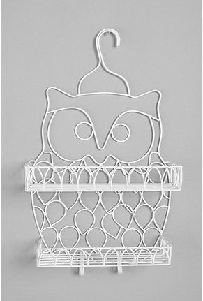 Cute shower caddy for those who want to wall-mount one in their room ...