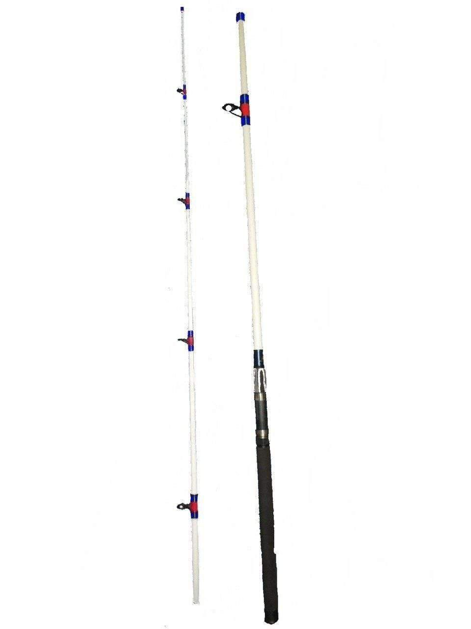 15 30 Lb 10 Ft Surf Rod 2pc Saltwater Fishing White Beast With Images Saltwater Fishing