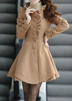 4 colors womens Princess style dress Coat jacket Apring autumn ...