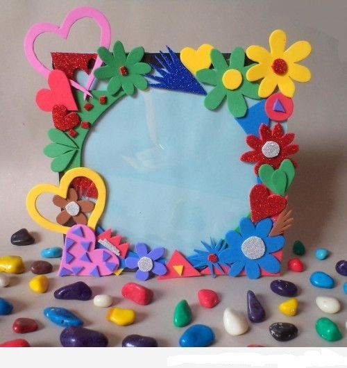 Manualidades Faciles Portaretratos Foam Crafts Crafts Crafts For Kids