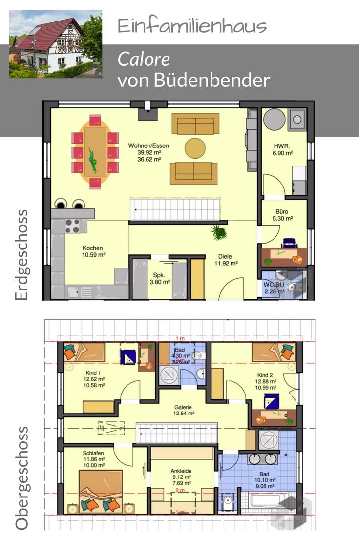 grundriss f r ein einfamilienhaus von b denbender finde weitere grundrisse wenn du auf das bild. Black Bedroom Furniture Sets. Home Design Ideas