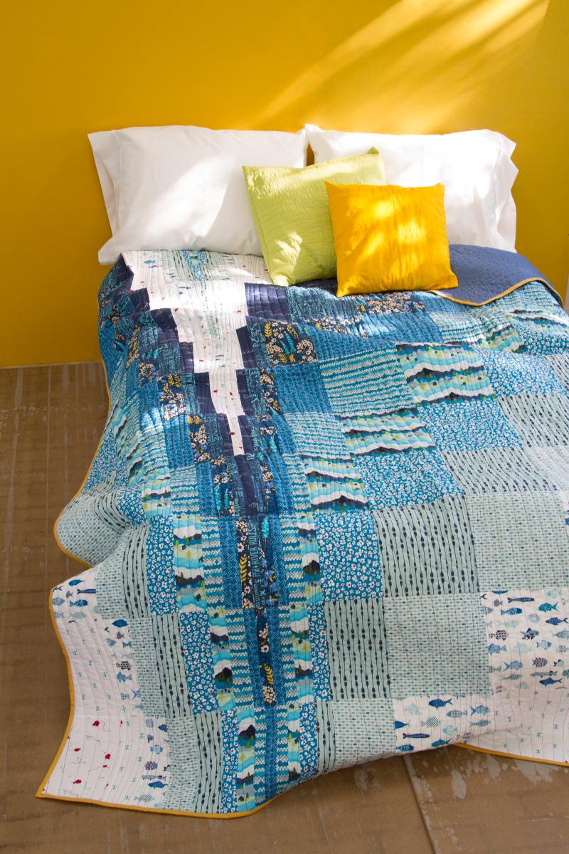 Catch&Release_QuiltFREE_1 Quilt kit, Quilts, Patchwork