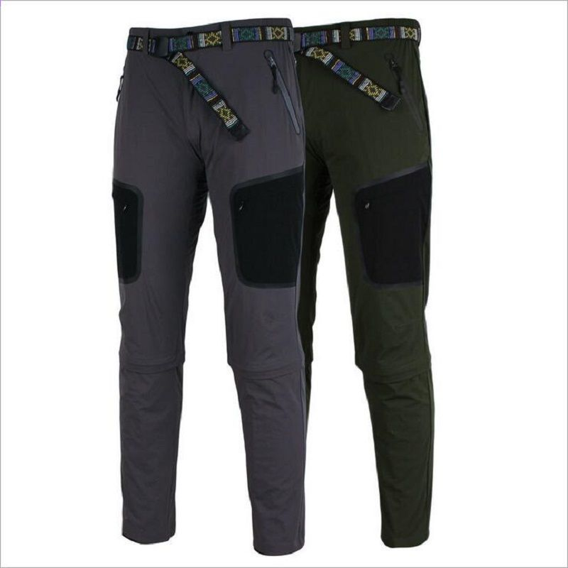 26c747373 Zealtoo 2018 hombres pantalones de ciclismo deportes al aire libre MTB Bike  ropa transpirable suelta apta
