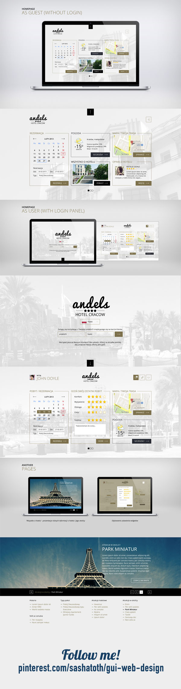 Hotel by WuHaDesign, via Deviantart *** Project inspired by metro ui