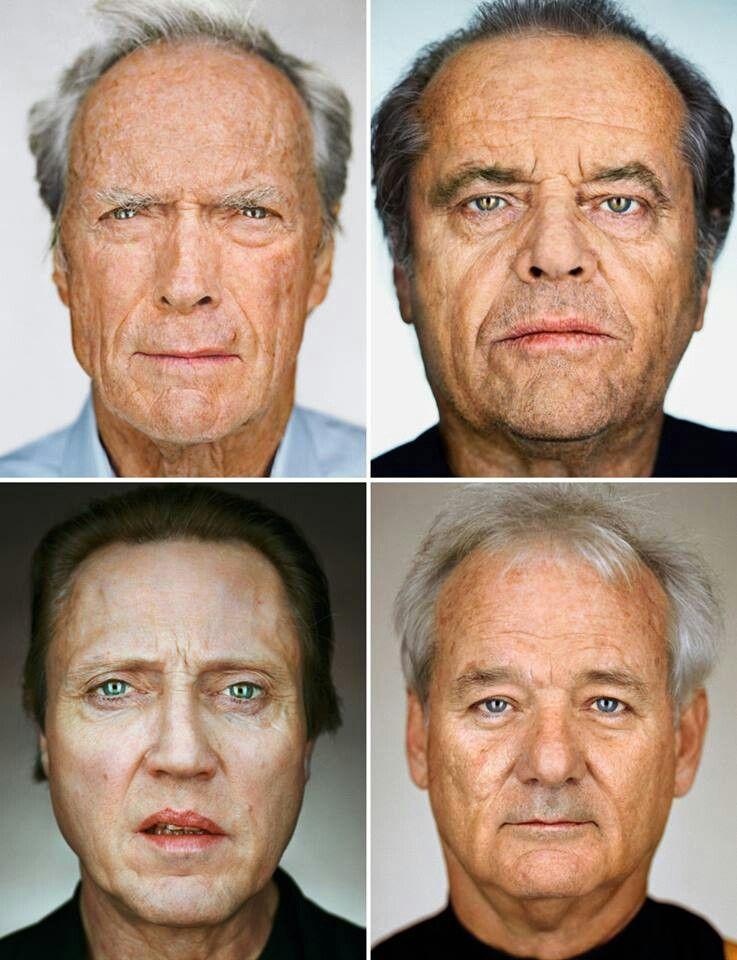 Clint Eastwood, Jack Nickolson, Christopher Walken et Bill Murray