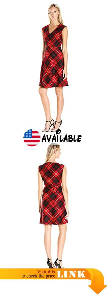 2cbe696e6504 Pendleton Women's Petite Size Natalie Plaid Dress, Cunningham Worsted Tartan,  14. Fully lined. 21.5 inch #Apparel #DRESS