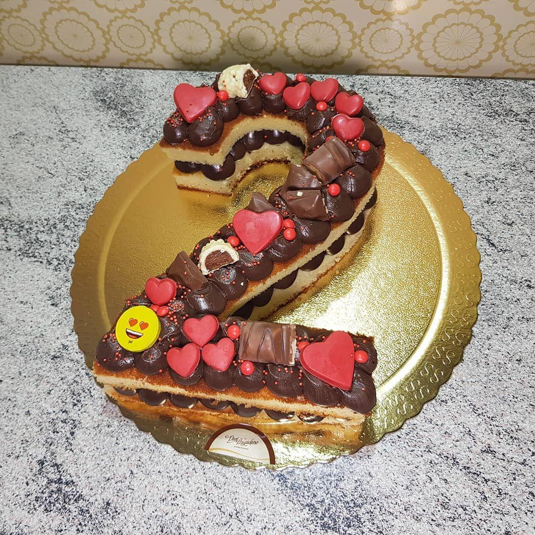 Pin Em Number Cake Bolo De Numero