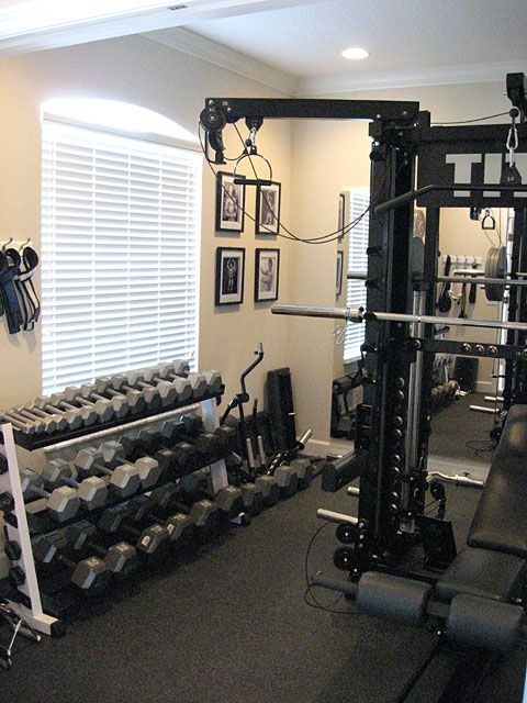 I ve always admired john stone s set up gym man caves in