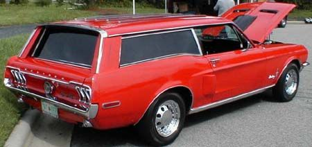 1967 Mustang Wagon Not sure about this  station wagon cars