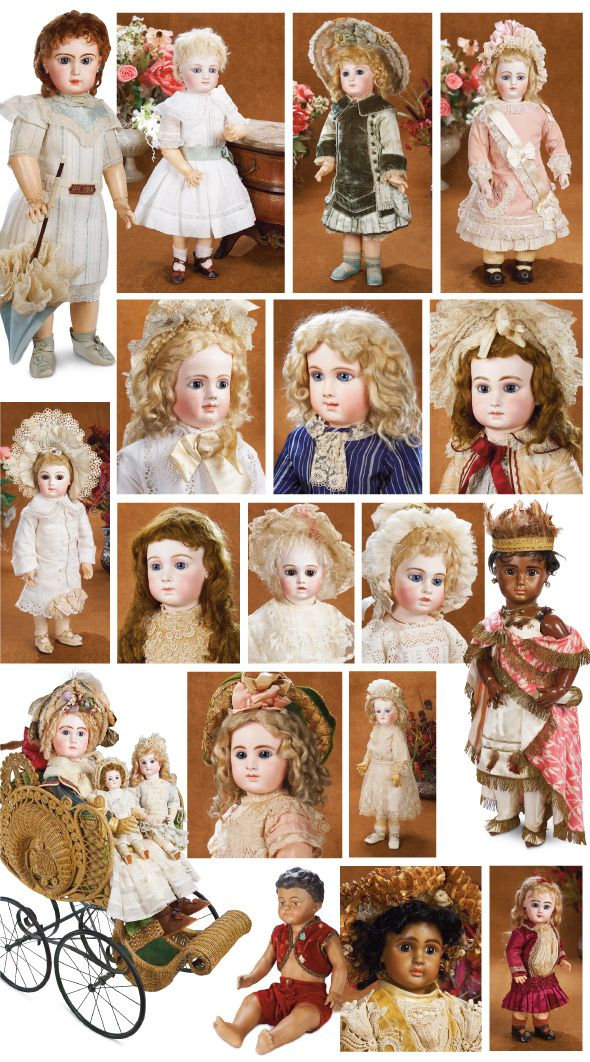 Golden Age of Antique French Bebes, 1875-1895