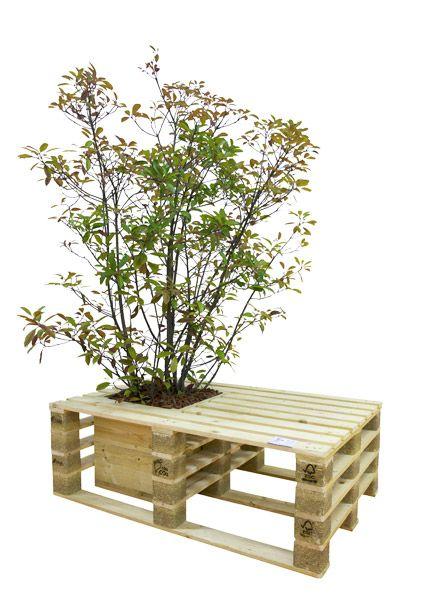 Pflanzkübel Aus Paletten | Upcycling | Pinterest | Pflanzkübel, Gärten Und  Palettenmöbel