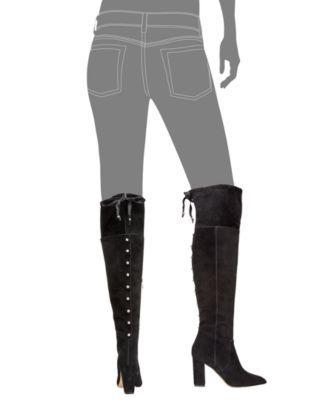 9a31455ecca Adrienne Vittadini Nilson Over-The-Knee Boots - Black 6.5M ...