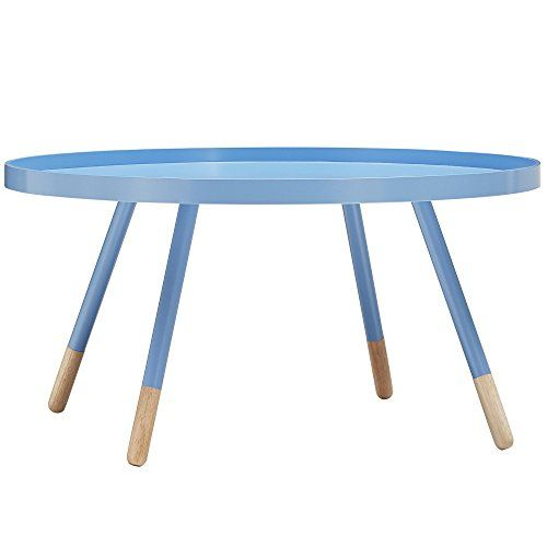 Mid-Century Modern Paint-dipped Round Shaped Spindle Wooden Accent ...