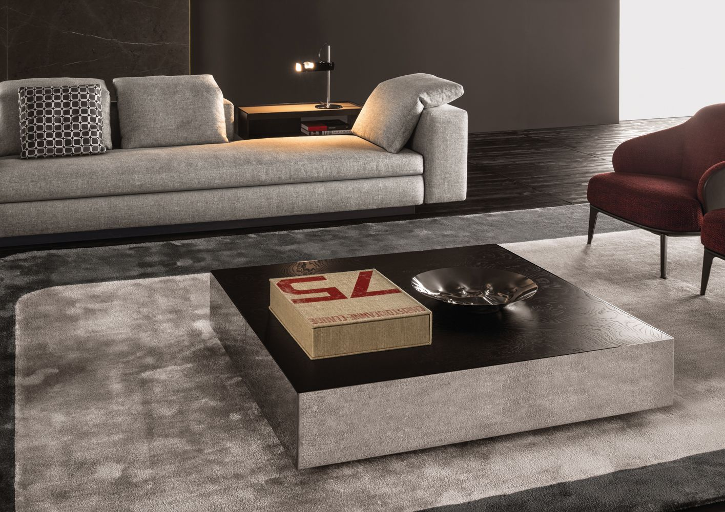Minotti Couchtisch Designed By Minotti Elliott Side Table Designed By Minotti In