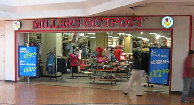 Miller's Outpost | Kickin' It Old School | Mall stores