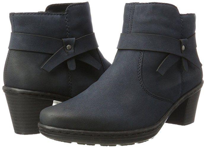 Rieker Damen 54983 Stiefel: : Schuhe & Handtaschen