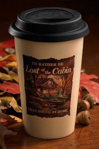 Lost At Cabin 12 oz Travel Cup by Terry Redlin >>> Details can be found by clicking on the image. (Note:Amazon affiliate link)