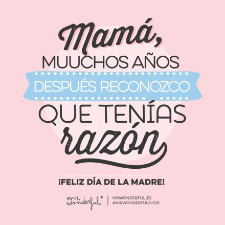 Felicidades Mamás Muymoloncom Pensamientos Edificantes