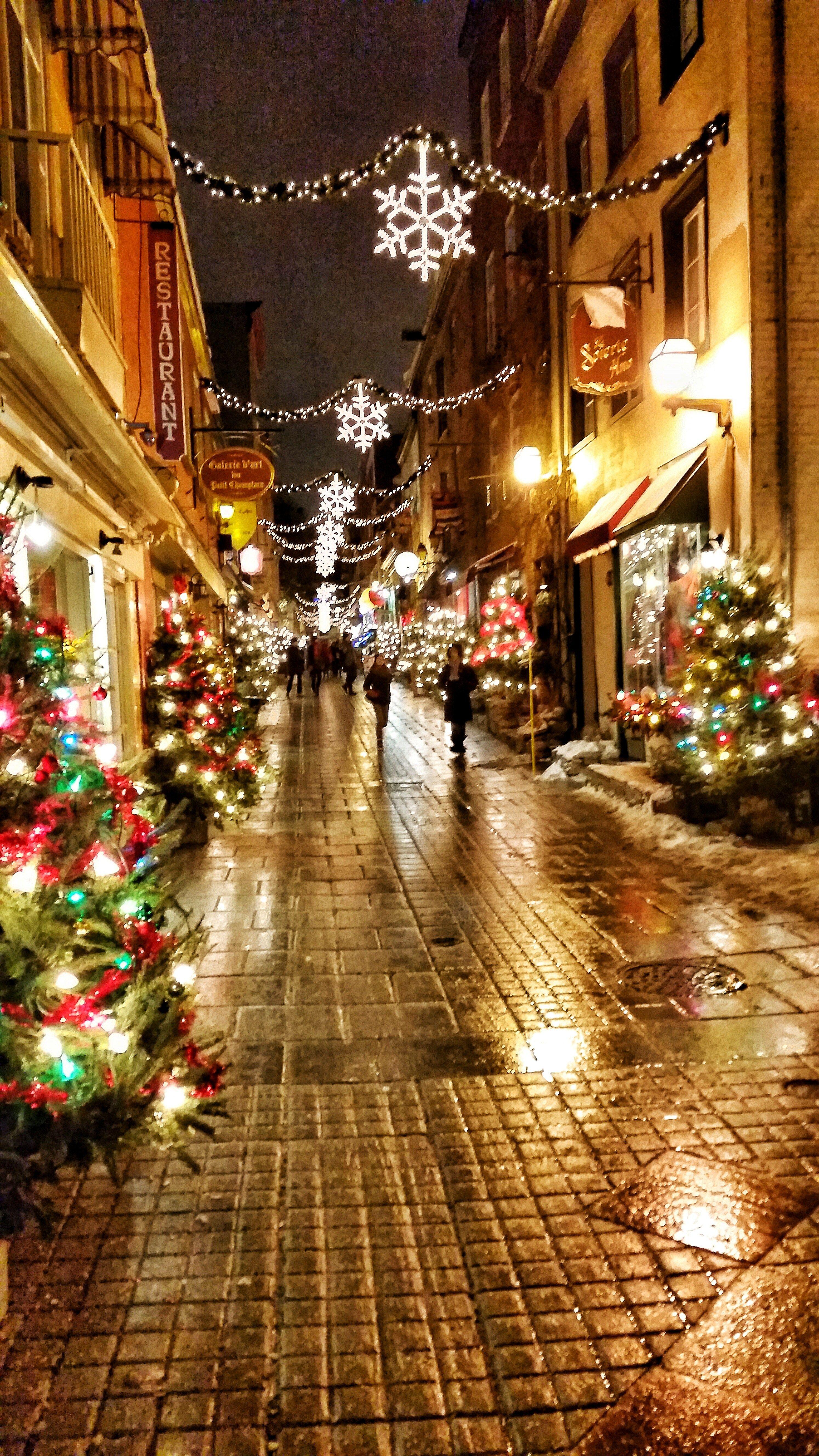 Quebec City For Christmas Quebec City Christmas Destinations Quebec
