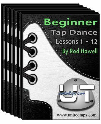 Beginner Tap Dance Lessons 1-12