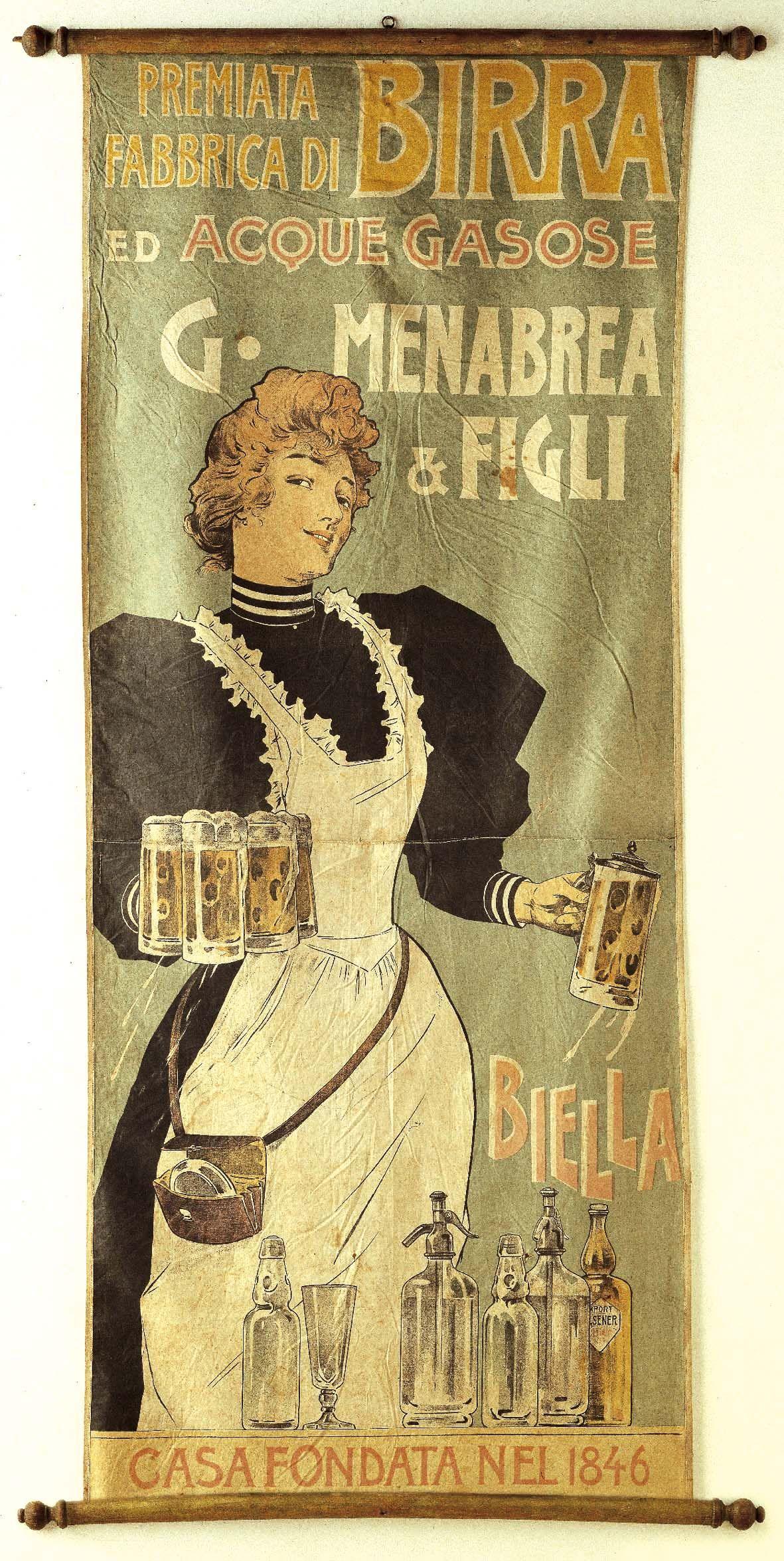 Menabrea | Cartelli Pubblicitari Birra in 2018 | Pinterest ...