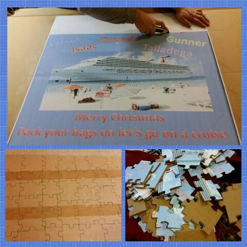 Surprise Cruise Reveal Puzzle Travel Cruise Cruise Tickets